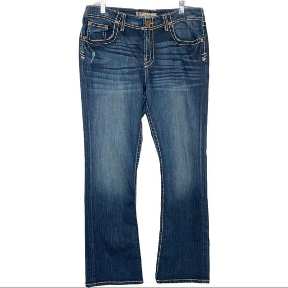 BKE Britni bootcut jeans 32
